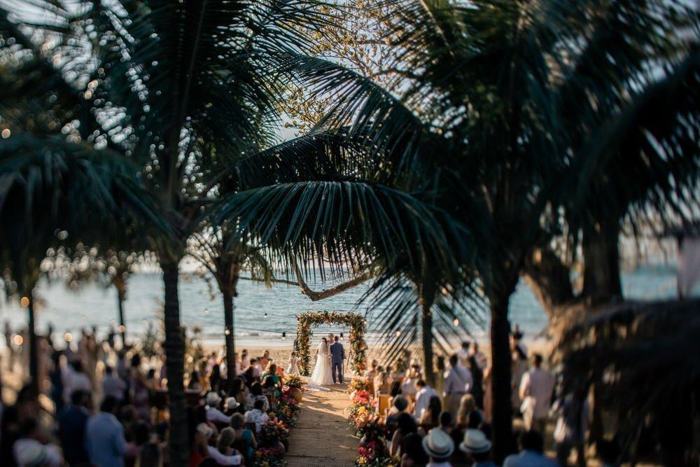 ideias de casamento na praia