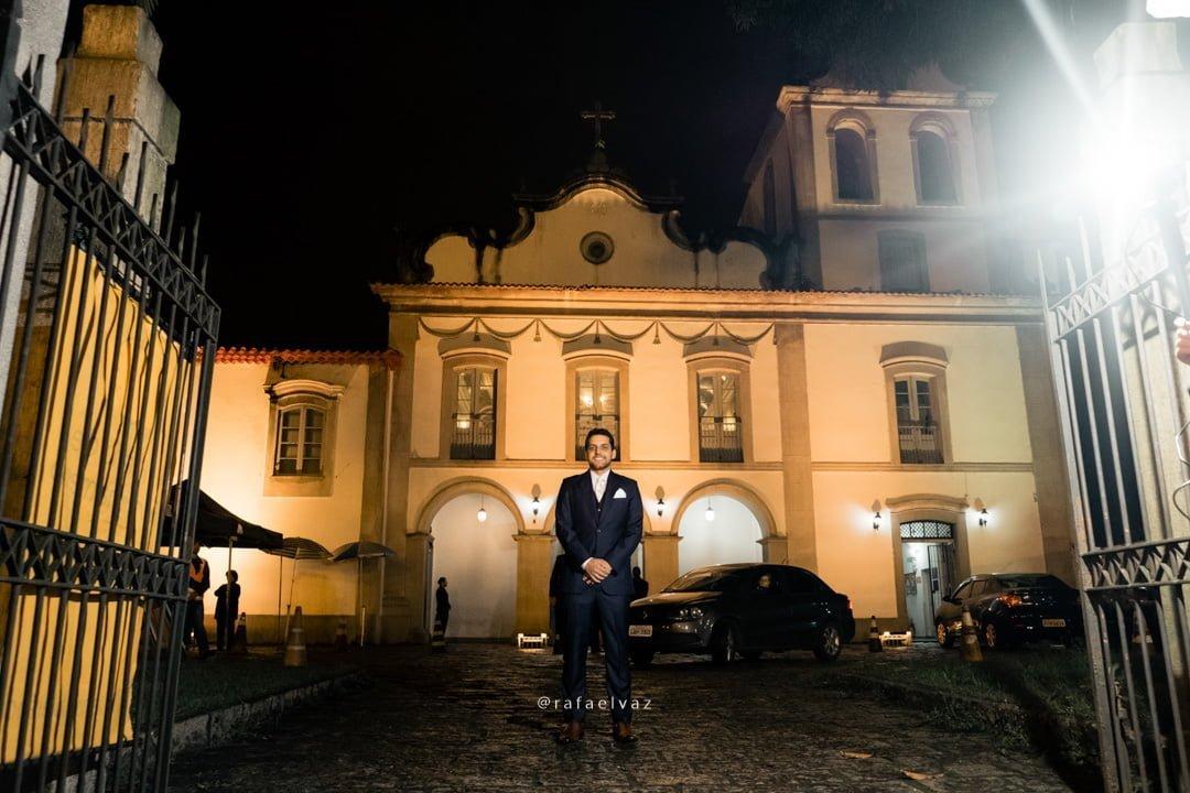 casamento na igreja do valongo, casamento tradicional, decoração de casamento a noite, rafael vaz fotografo, fotografo em santos, casar na igreja, chão de espelho, espelho na igreja, passarela de espelho